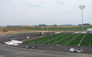 Middle Town H. S. Site and Athletic Field Construction