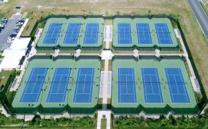 Salisbury U Tennis Court Construction