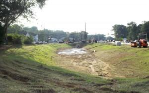 Storm Pond Construction