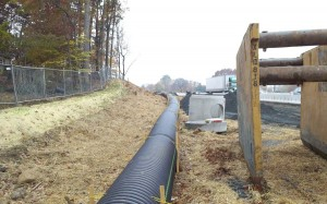 Temporary Storm Pipe for E& S Site Control