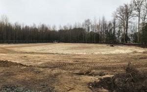Storm Pond Construction for E & S Control