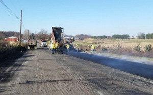 Hot Mix Paving & Milling of Rural Roads