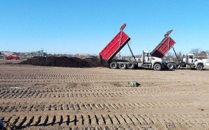 Landfill Material Hauling