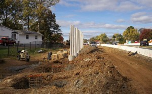 Rt 22 Sound Barrier and roadway improvements