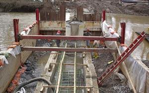 Emergency Sewer Repair in a Stream Crossing