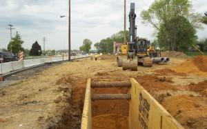 Deep Storm Sewer Construction
