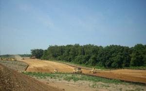 Earth Moving Site Development