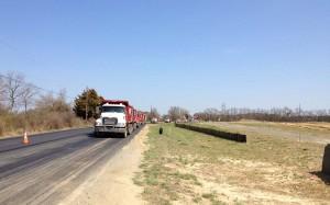 A-Del Trucking Materiel Hauling Capabilities